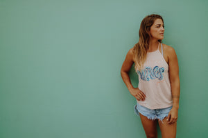MAKE Waves High Neck Tank