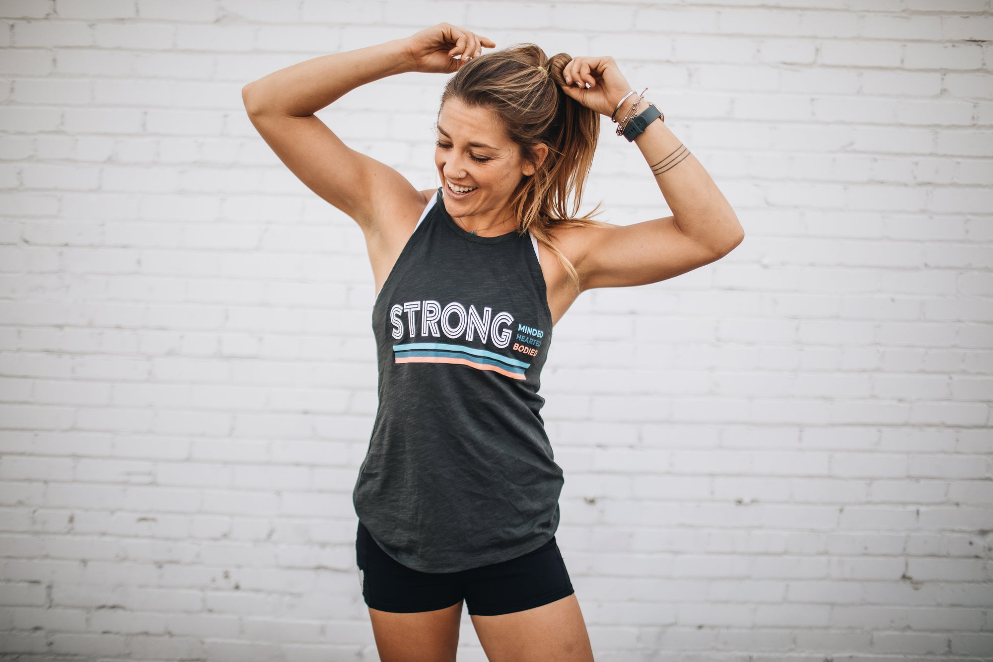 STRONG minded. bodied. hearted. Tank