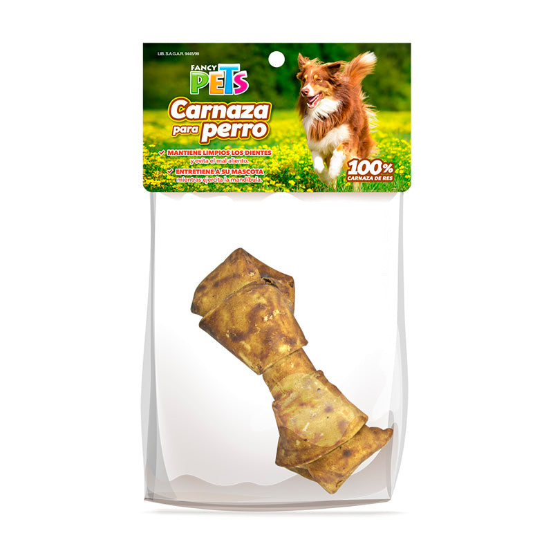 Carnaza en Forma de Hueso Sabor Cacahuate 4-5 FancyPets
