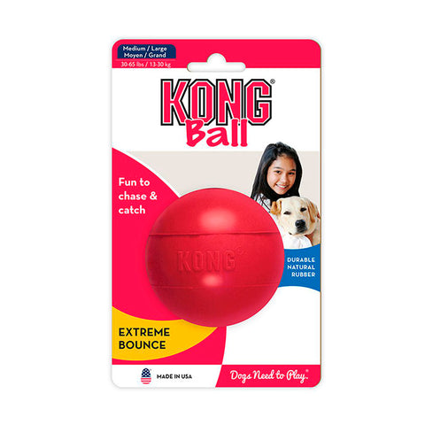 Kong Ball with Hole Medium/Large