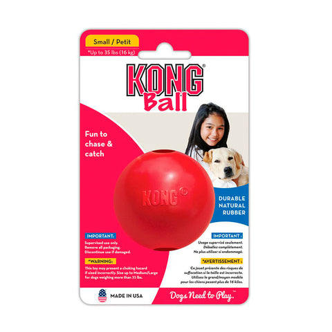 Kong Ball with Hole Small