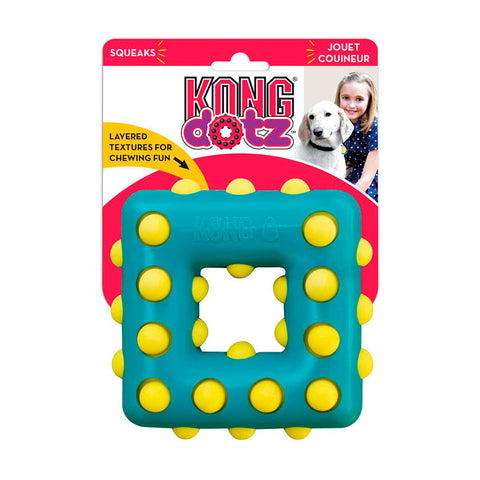 Kong Dotz Square Blue Large