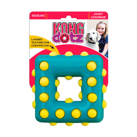 Kong Dotz Square Blue Small