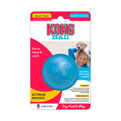 Kong Puppy Ball with Hole Small (Los colores pueden variar)