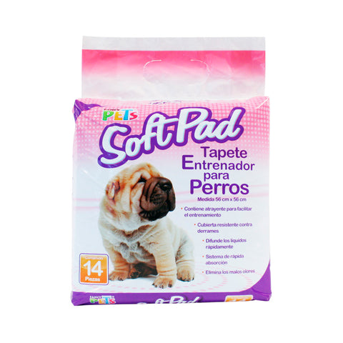 Tapete Entrenador 14 pzs Fancy Pets