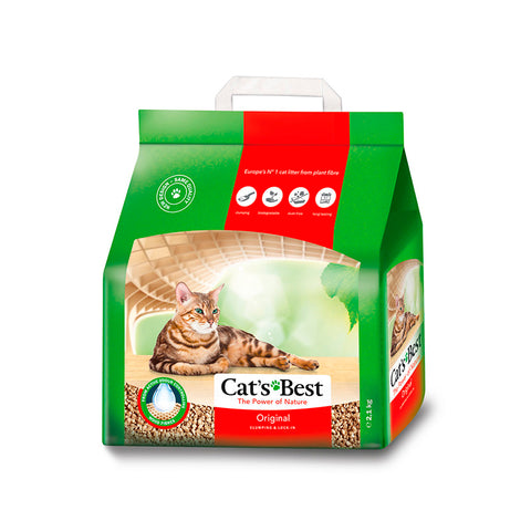 Cat's Best Arena Para Gato Biodegradable 2.1 Kg