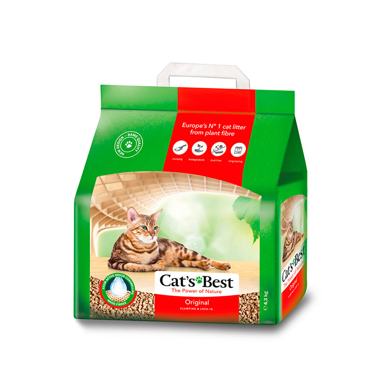 Cat's Best Arena Para Gato Biodegradable 4.3 kg