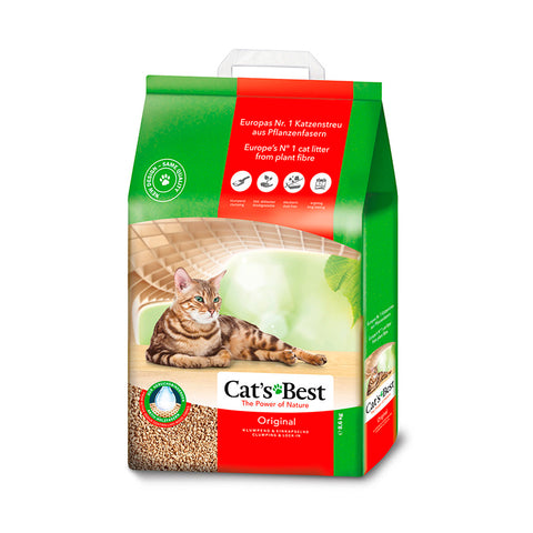 Cat's Best Arena Para Gato Biodegradable, 8.6 kg