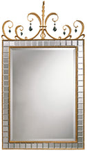 Load image into Gallery viewer, 1206 Tiffany Mirror by Carvers Guild