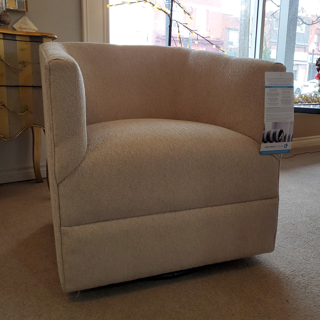 Desmond swivel chair by Brentwood