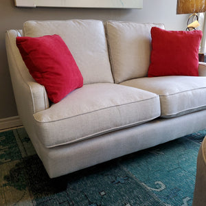Down Filled Loveseat by Superstyle