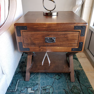 Saratoga End Table by Handstone