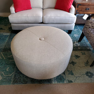 Round Ottoman by Superstyle