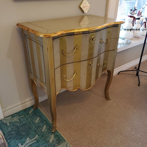 Gold Accent Table by French Heritage
