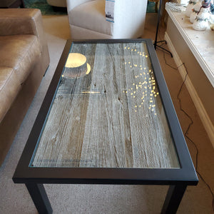 Authentic Ontario Barnboard Coffee Table by Artage