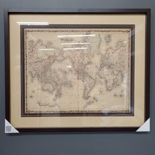 Load image into Gallery viewer, Johnson, Map of the World