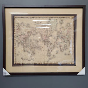 Johnson, Map of the World