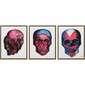 W6552 Taboo Set of 3 Canvas Wall Art by Renwil
