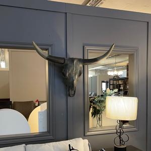 STA474 Longhorn Wall Art by Renwil