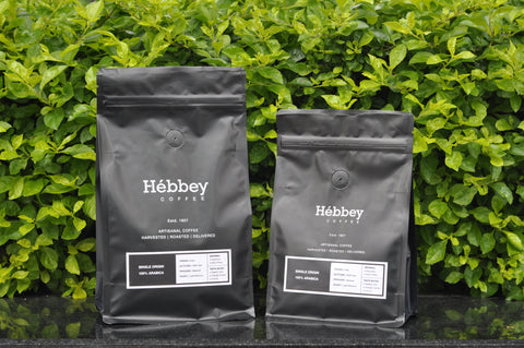 Hébbey Coffee 100% Arabica - Single Origin
