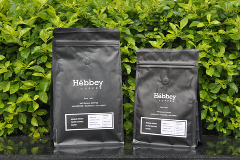 Hébbey Coffee Single Origin Blend - Filter Coffee