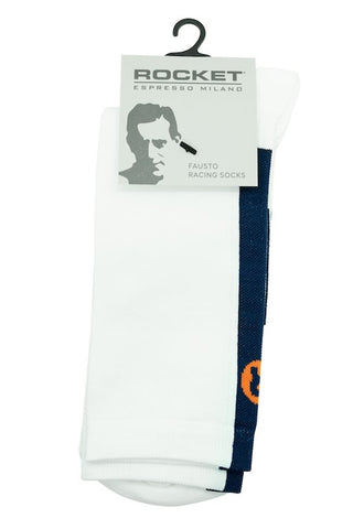 Rocket Cycling Socks - White