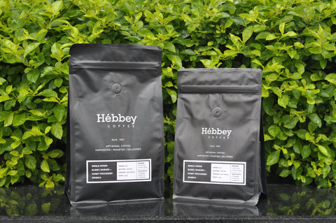 Hébbey Coffee Single Origin Blend - Washed Arabica + Honey Processed Arabica