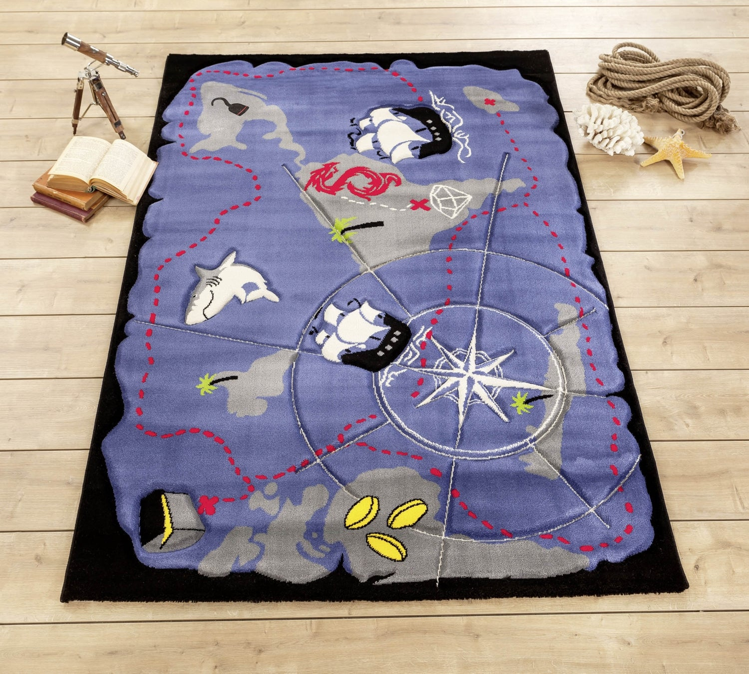 Cilek Pirate Carpet (133x190 Cm)