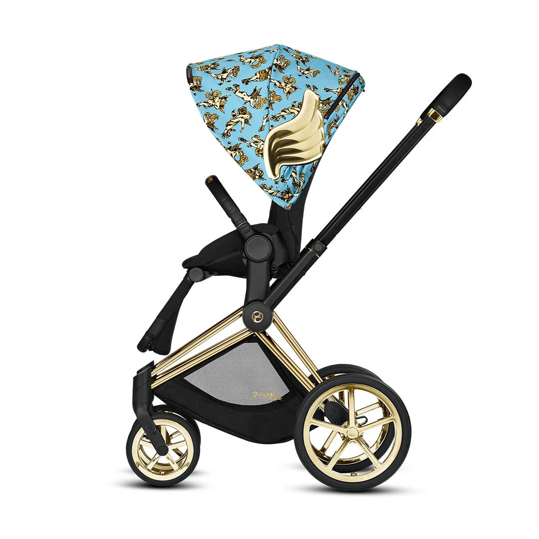 Cybex Priam Pushchair - Cherub Blue by Jeremy Scott