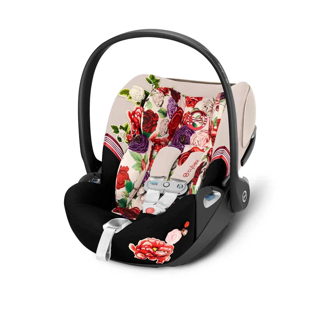 Cybex Cloud Z i-Size Car Seat with SensorSafe - Spring Blossom Light
