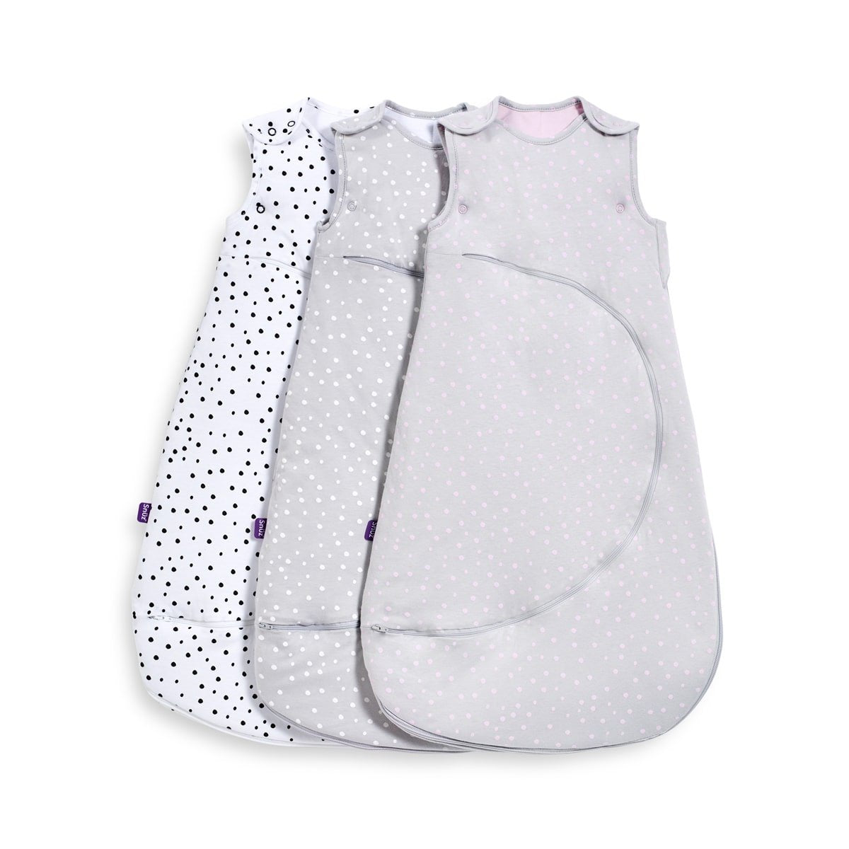 SnuzPouch Sleeping Bag - Rose Spots