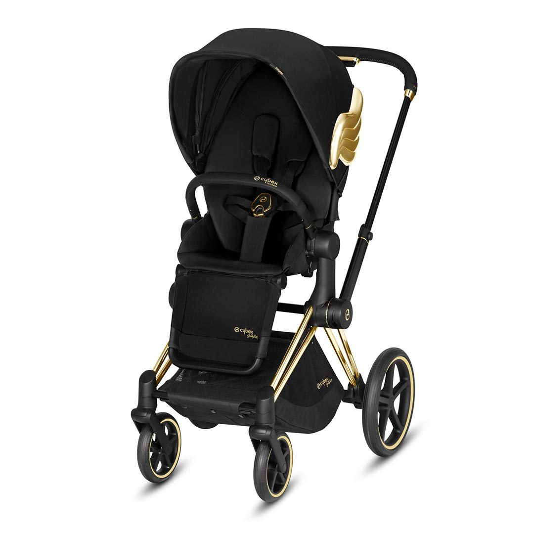 Cybex Priam Pushchair - Wings by Jeremy Scott - Gold