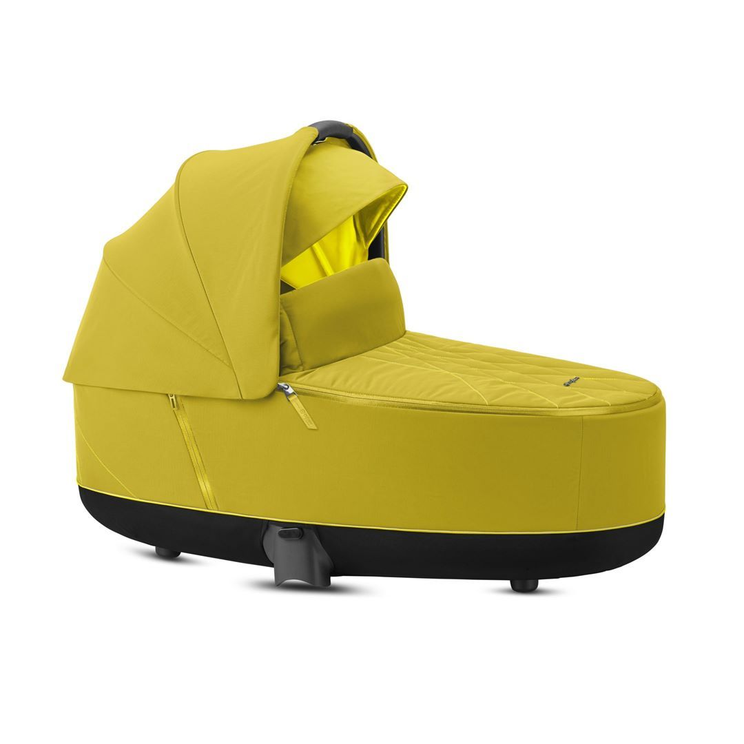 Cybex Priam Lux Carrycot - 2020 - Mustard Yellow