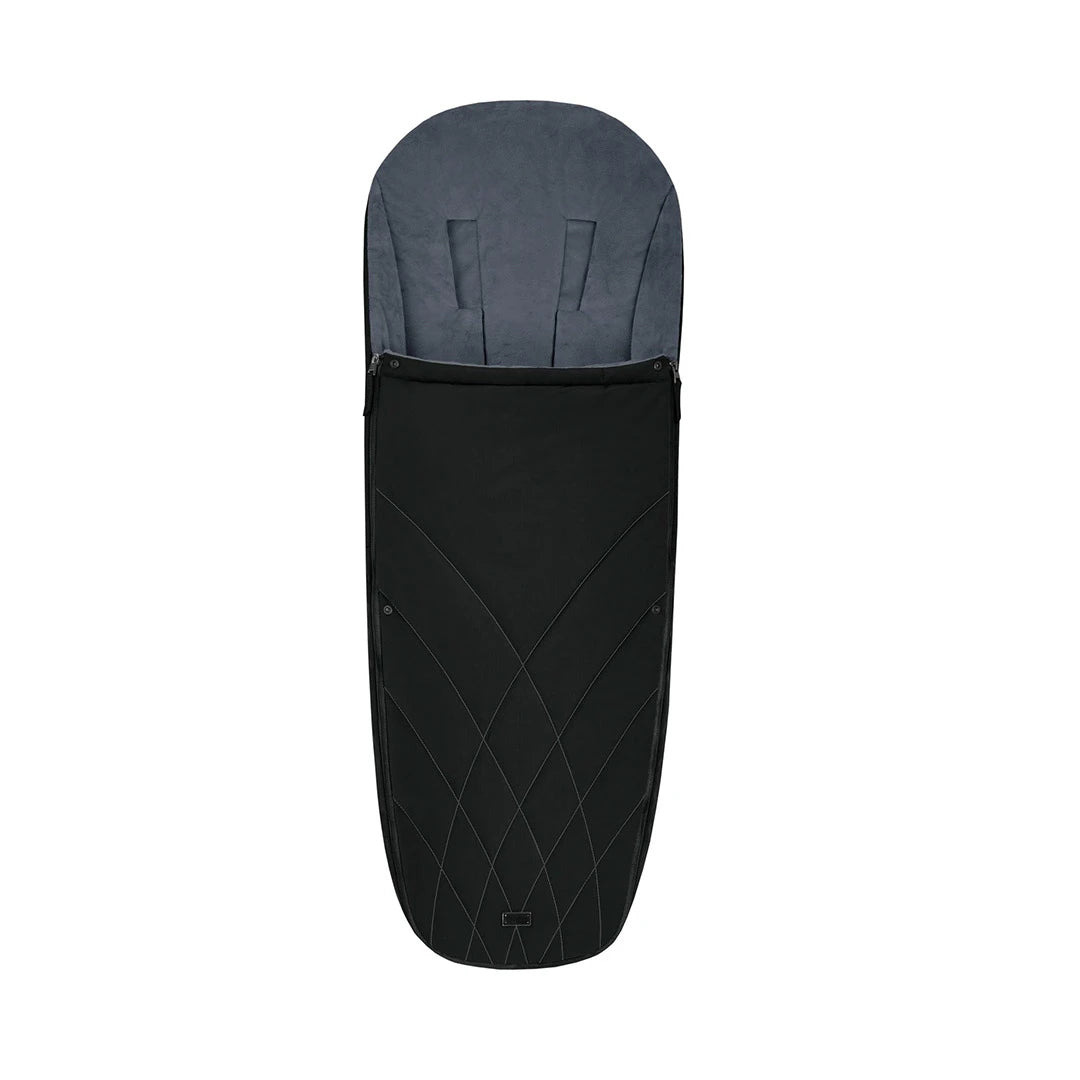 Cybex Platinum Footmuff - 2020 - Deep Black