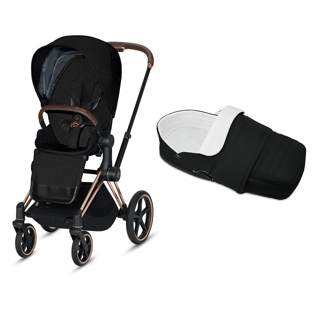 Cybex Priam Pushchair - 2020 - Deep Black