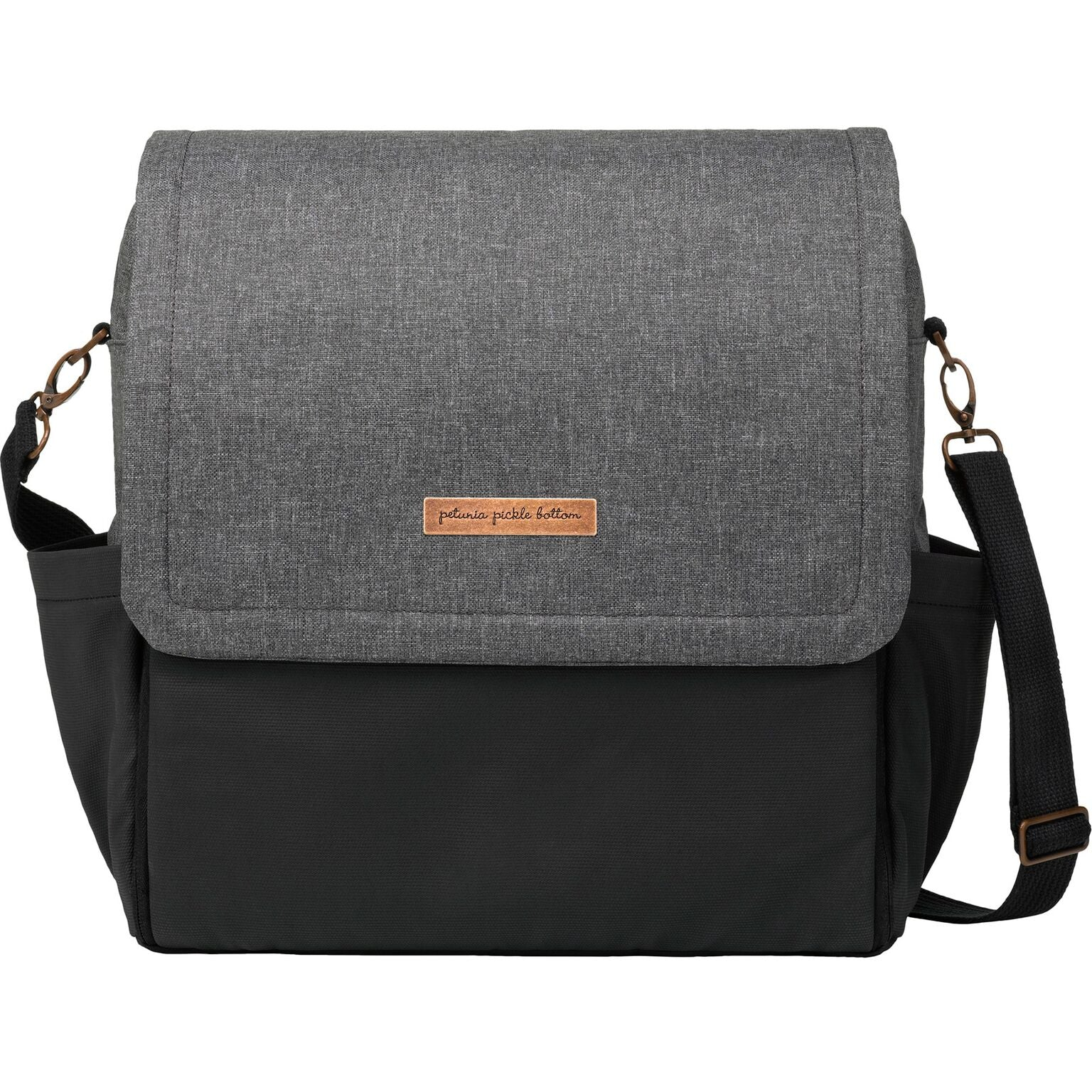 Petunia Pickle Bottom Boxy Backpack - Birch/Graphite