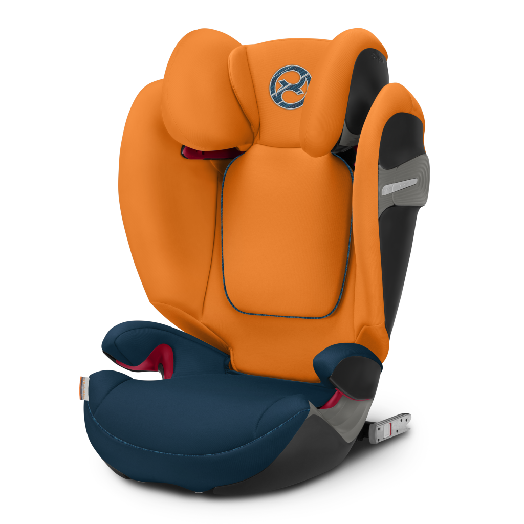 Cybex Solution S-Fix Group 2/3 Car Seat - Tropical Blue
