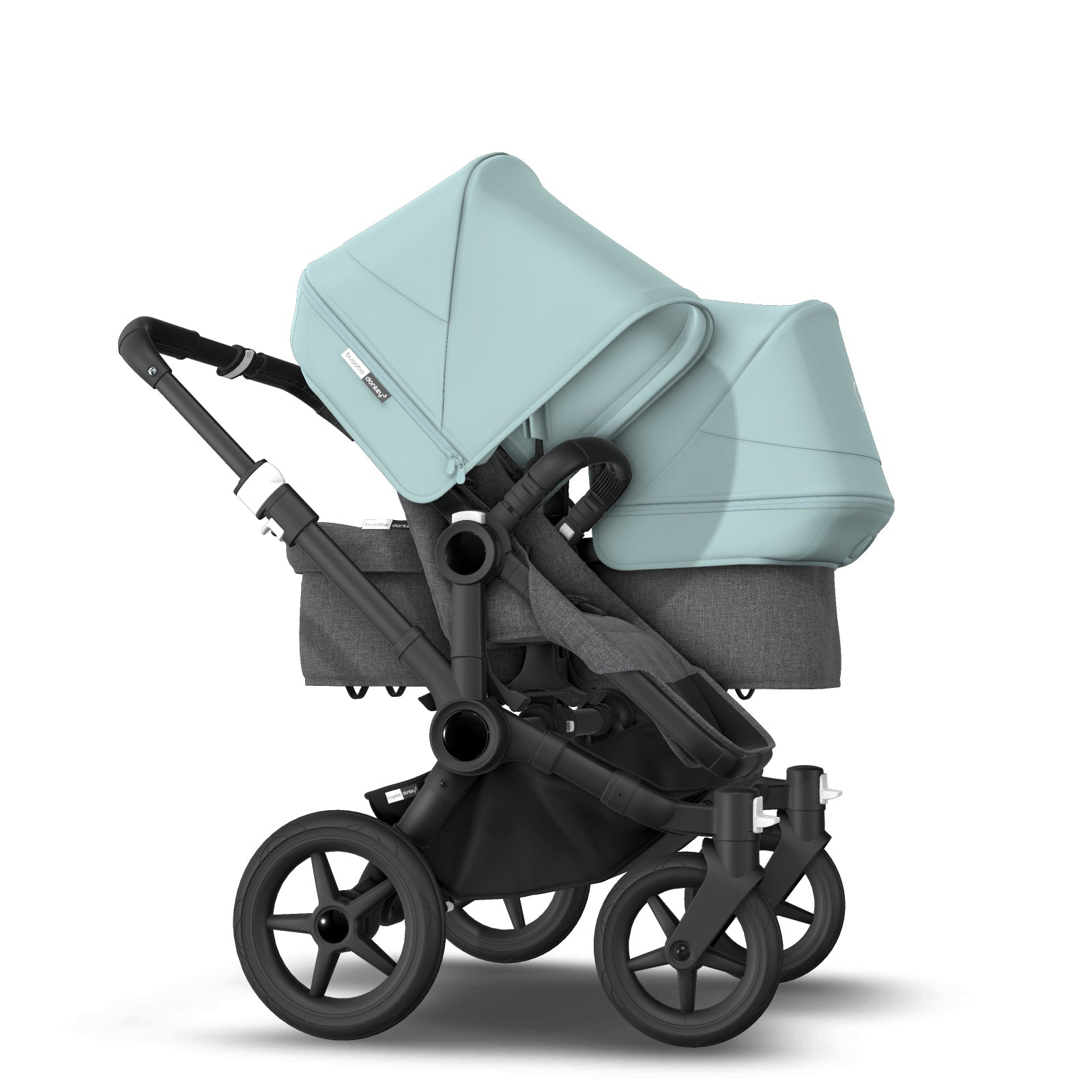 Bugaboo Donkey 3 Duo Seat and Carrycot Pushchair - Vapor Blue