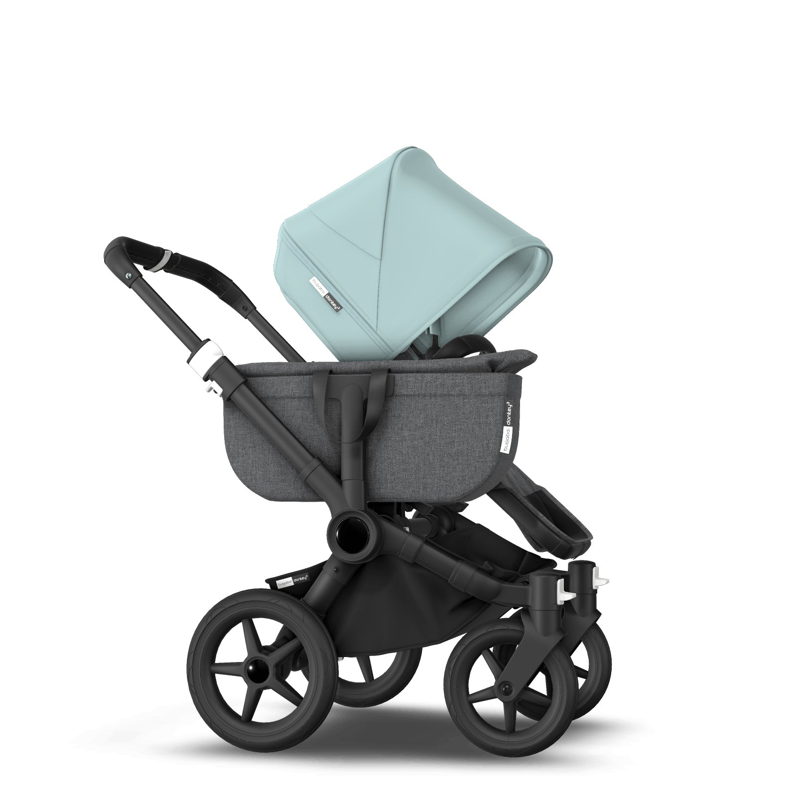 Bugaboo Donkey 3 Mono Seat and Carrycot Pushchair - Vapor Blue