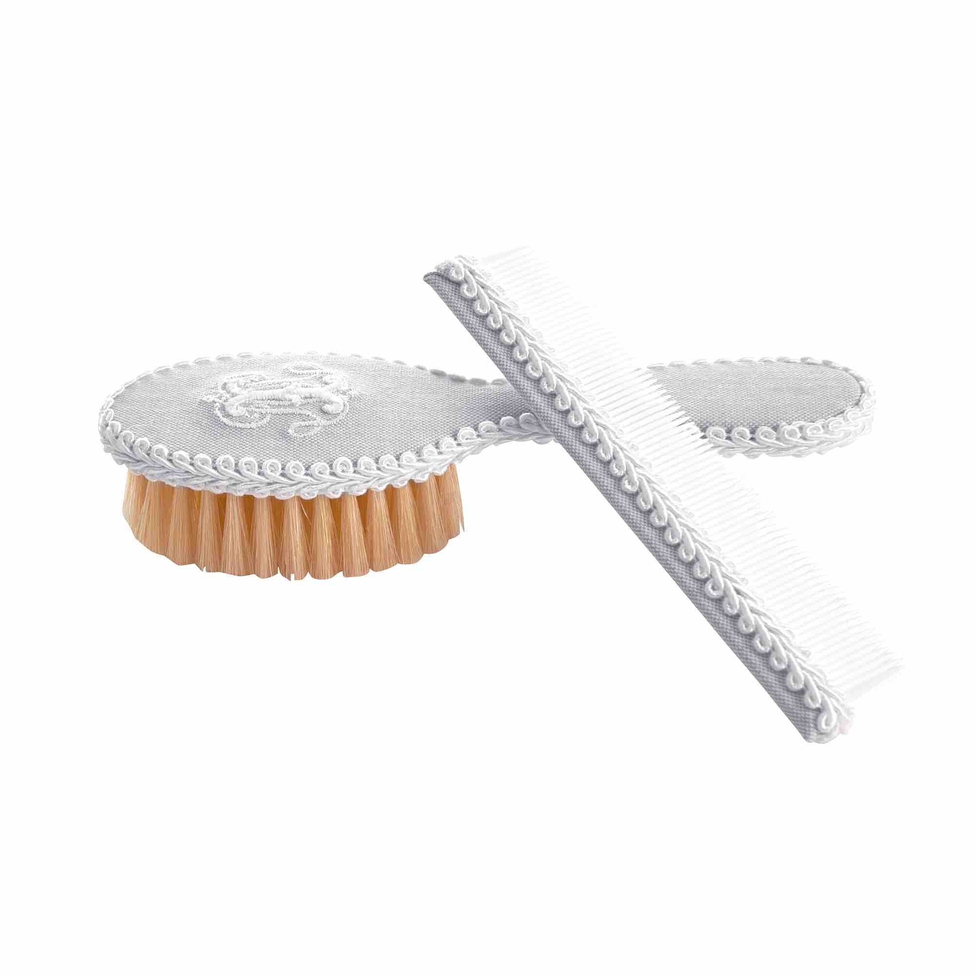 Theophile & Patachou Brush & Comb - Pearl