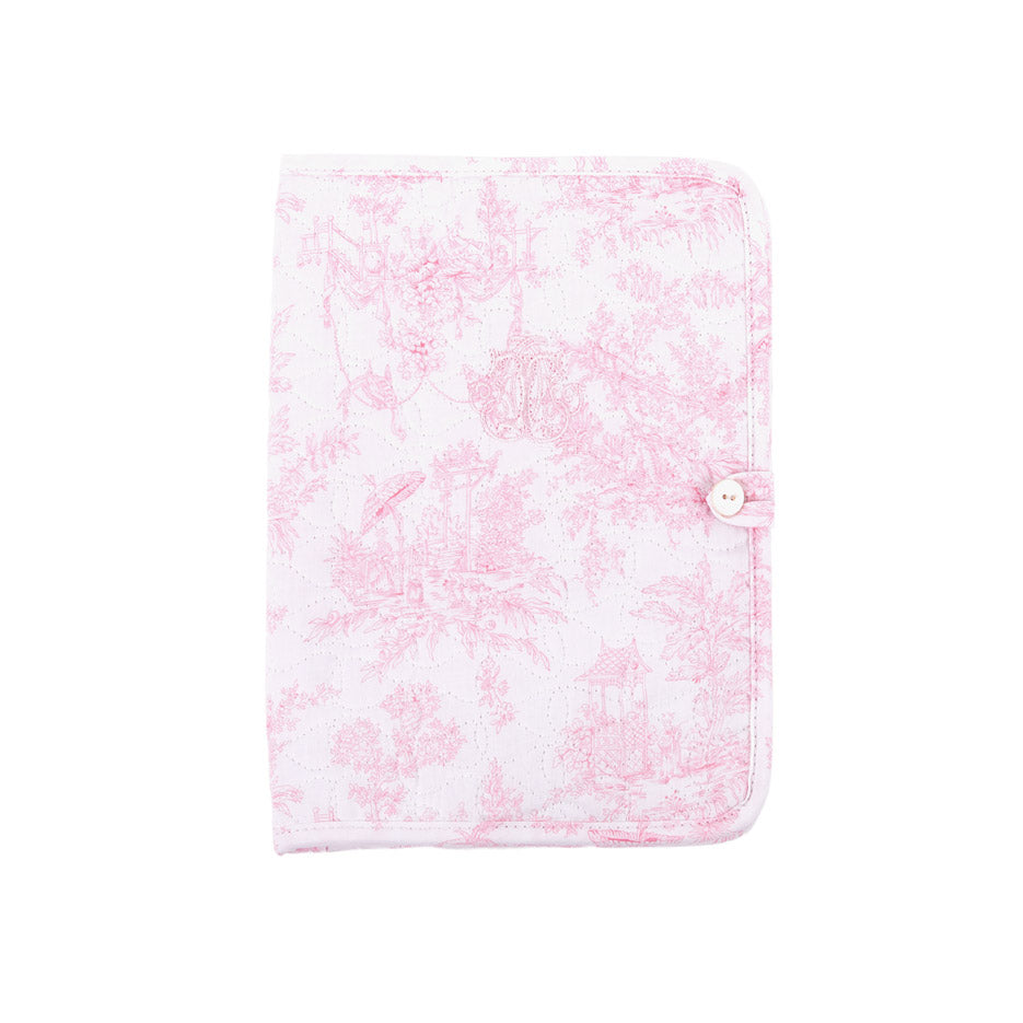 Theophile & Patachou Health Book Cover - Sweet Pink