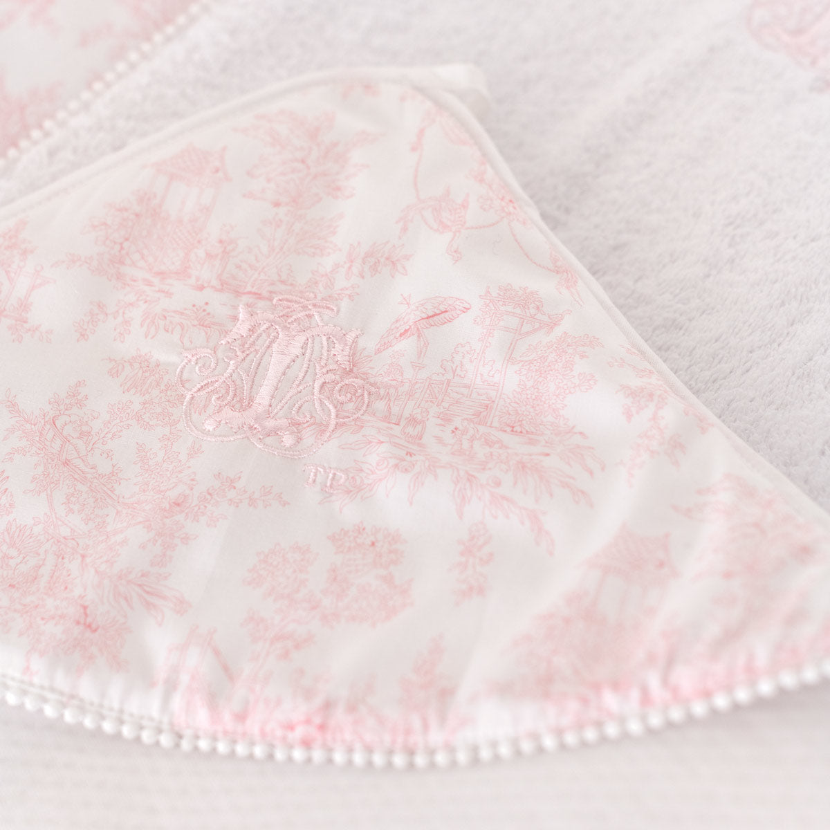 Theophile & Patachou Summer Birth Cape 80X80 cm - Sweet Pink