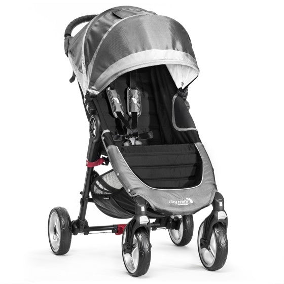 Baby Jogger City Mini 4 Wheel - Steel/Grey