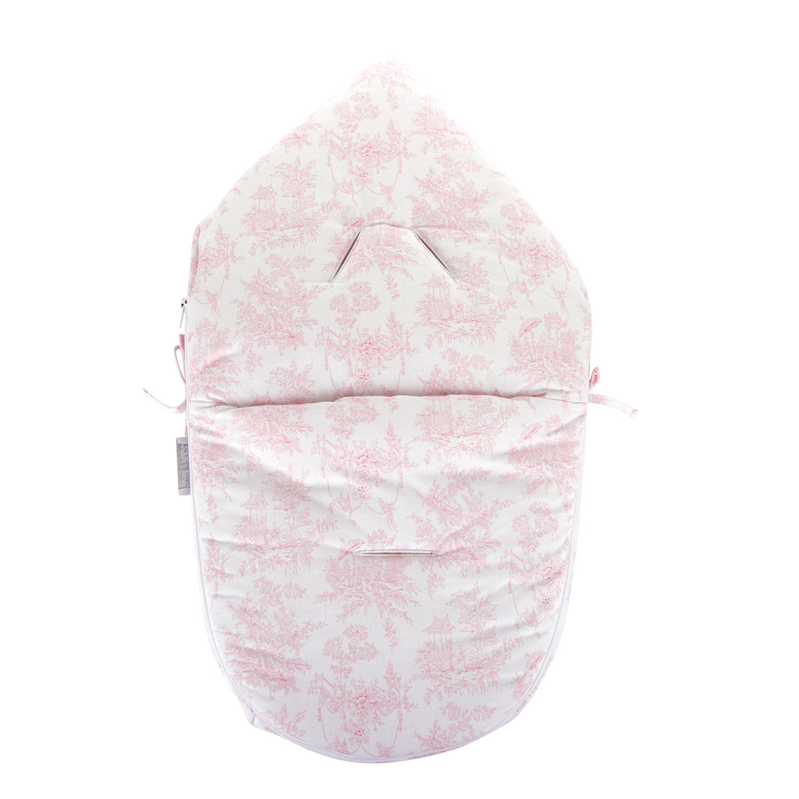 "Theophile & Patachou Hooded Sleeping Bag for Car Seat ""Pebble Pro"" - Sweet Pink"