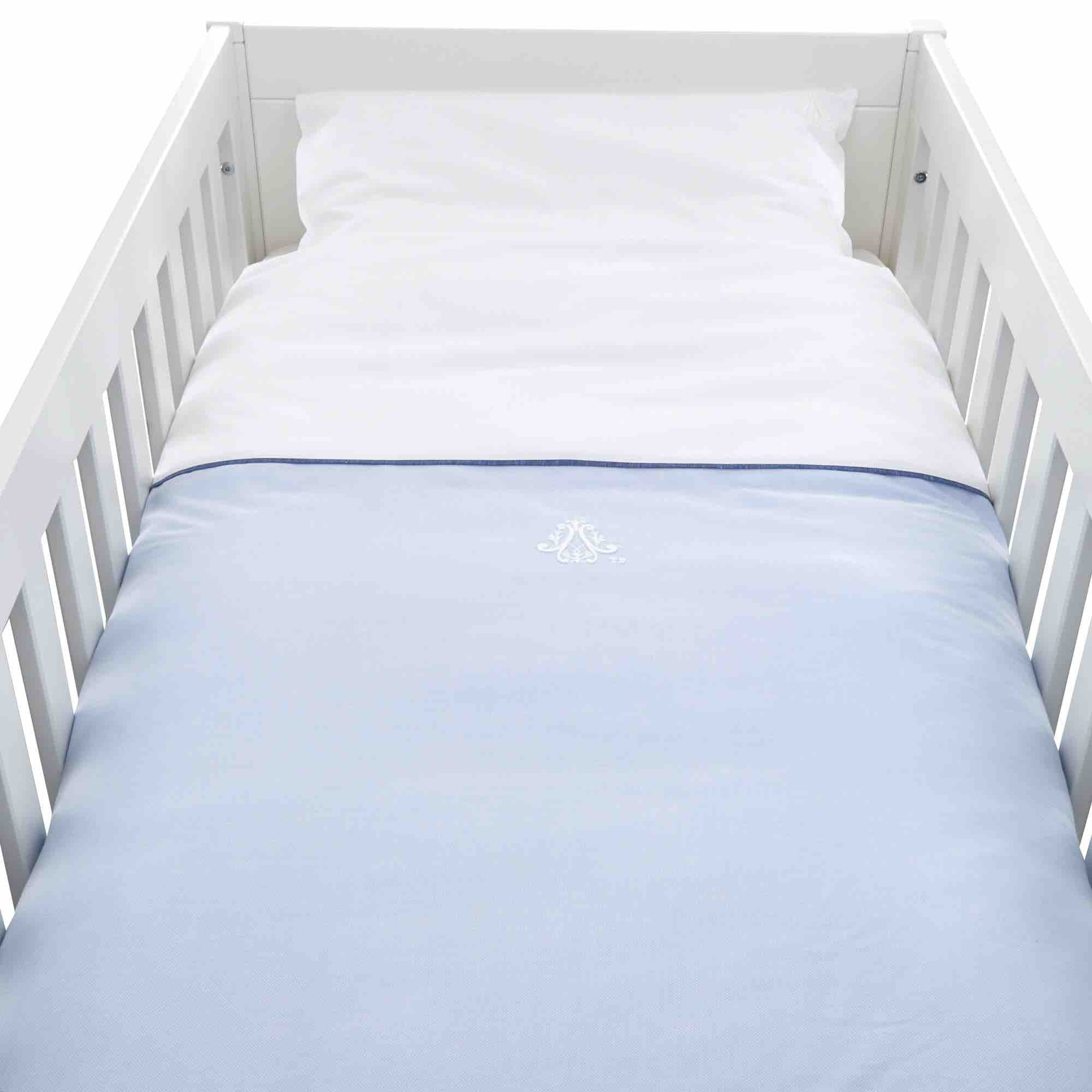 Theophile & Patachou Cot Bed Duvet Cover - Indigo