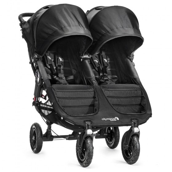 Baby Jogger City Mini GT Double Pushchair - Black