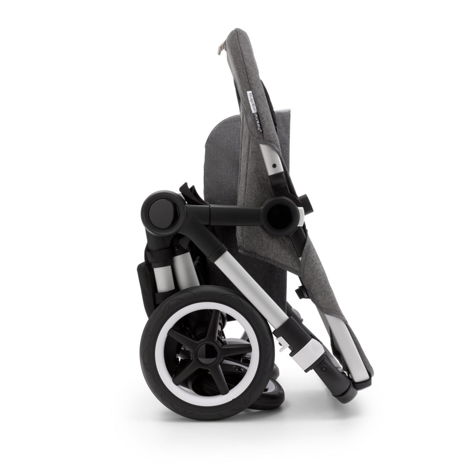 Bugaboo Donkey 3 Duo Seat and Carrycot Pushchair - Mineral Washed Black