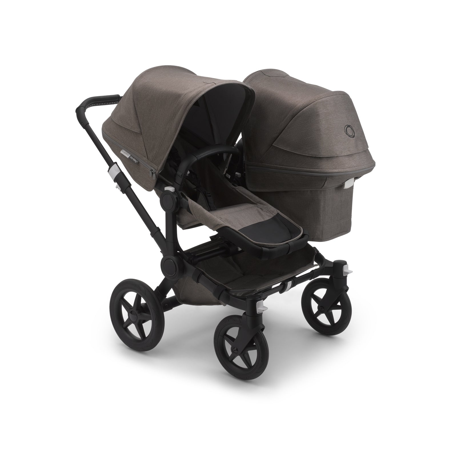Bugaboo Donkey 3 Duo Seat and Carrycot Pushchair - Mineral Taupe Melange