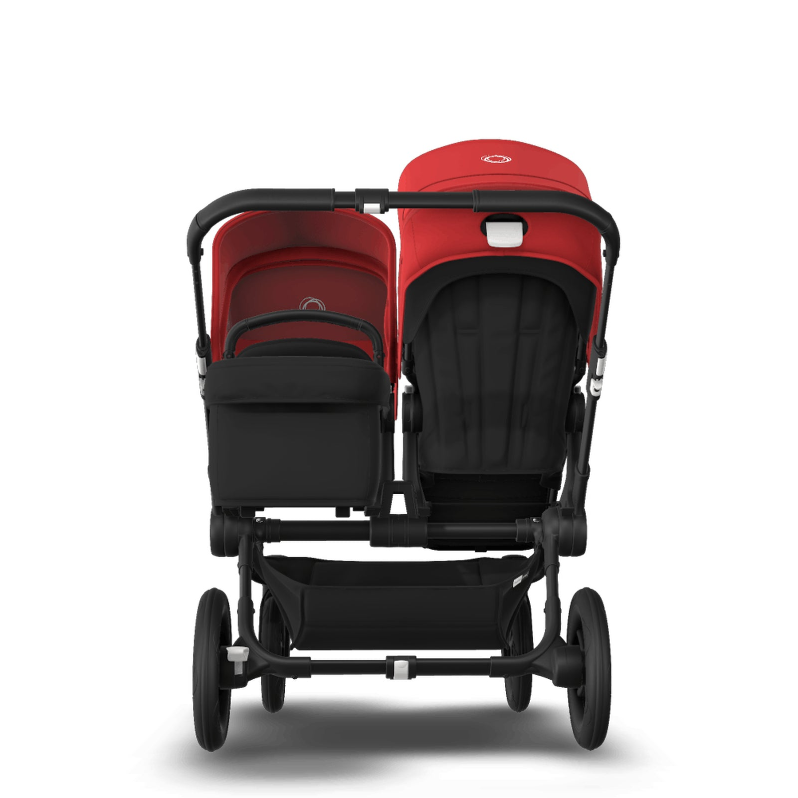 Bugaboo Donkey 3 Duo Seat and Carrycot Pushchair - Red