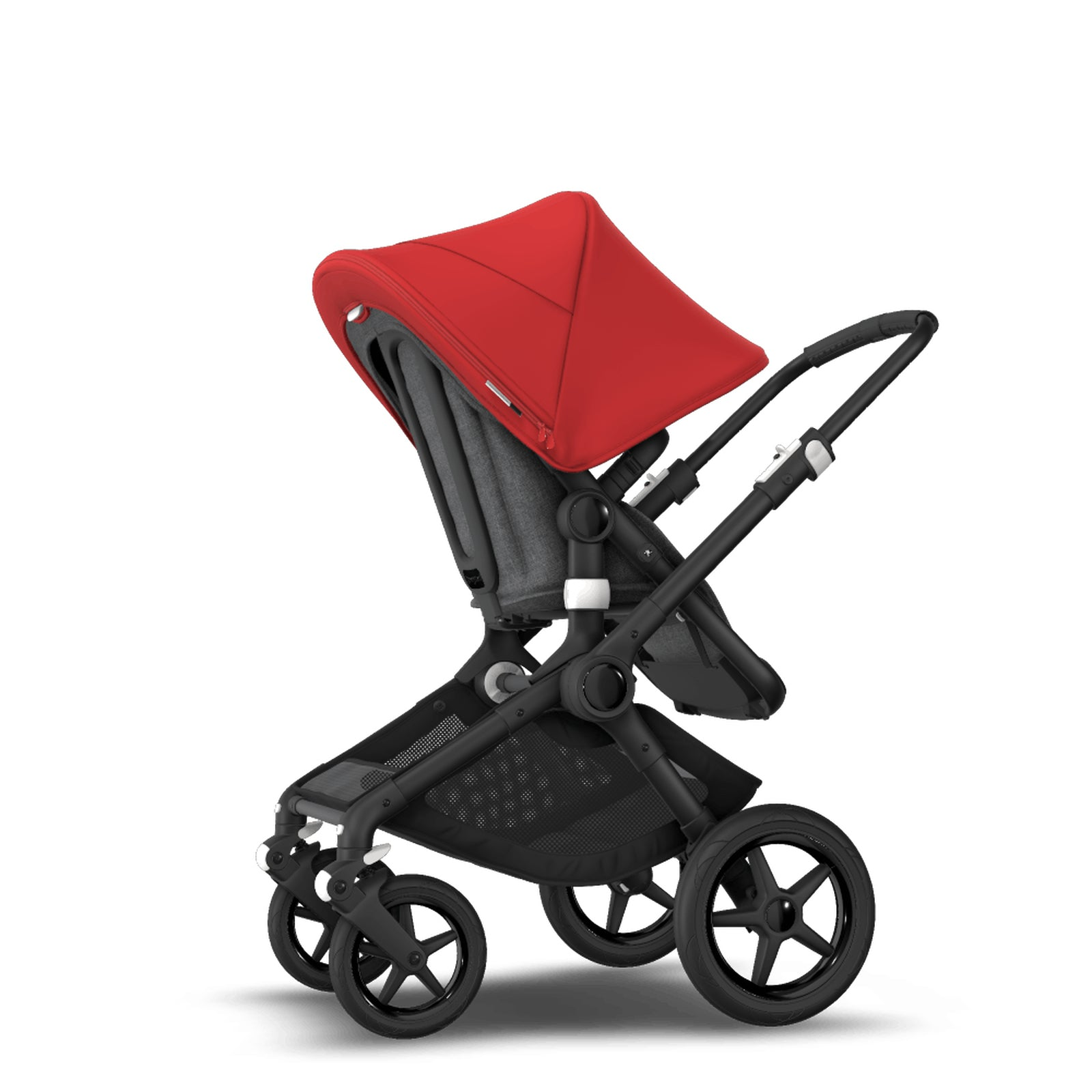 Bugaboo Fox 2 Seat and Carrycot Pushchair - Red